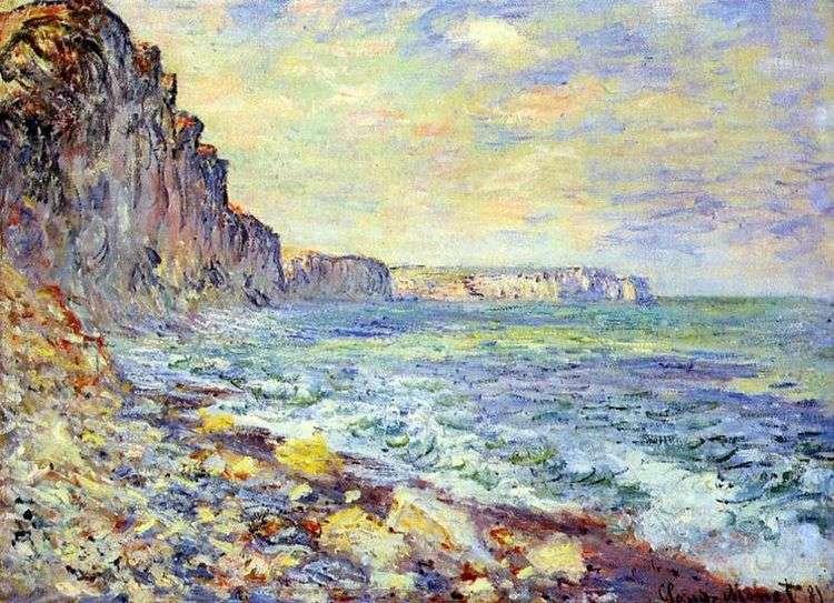 Утро у моря   Клод Моне