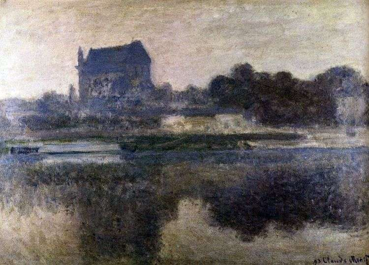 Церковь в тумане   Клод Моне