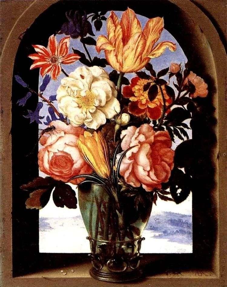 Букет Цветов   Амброзиус Босхарт