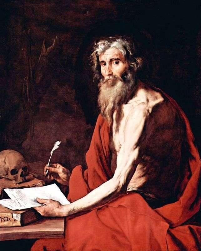 Святой Иероним   Хусепе де Рибера