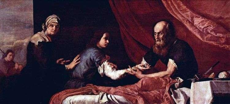 Слепой Исаак благословляет Иакова   Хусепе де Рибера
