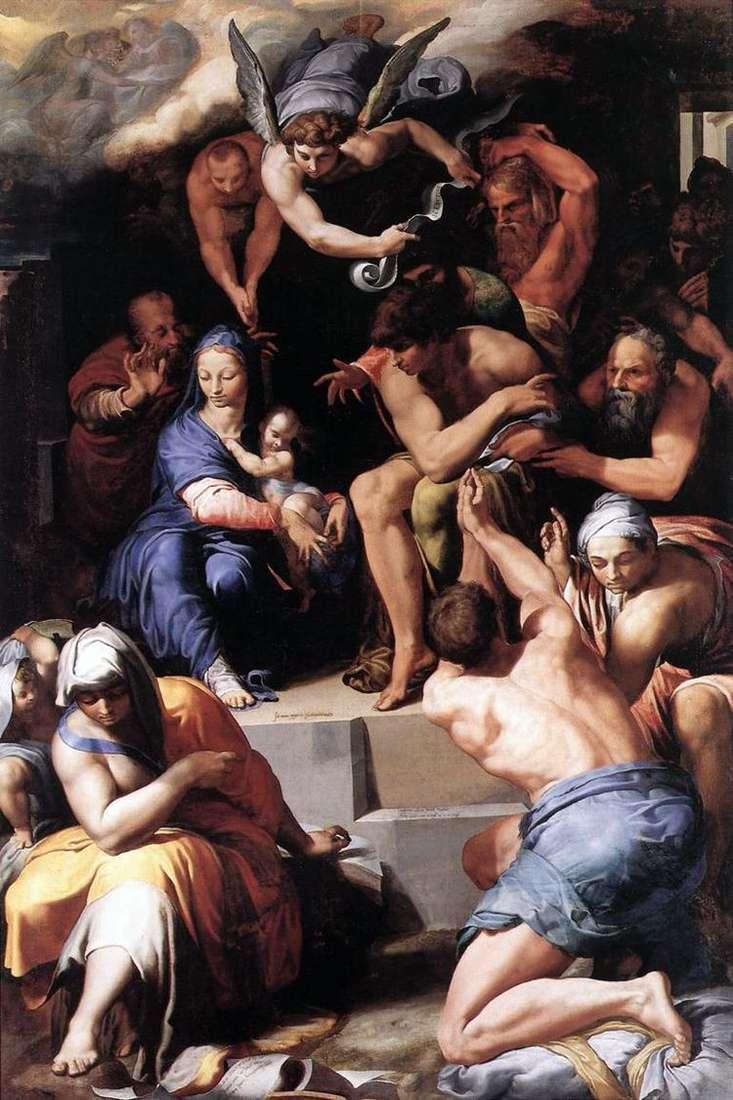 Поклонение Младенцу Христу   Пеллегрино Тибальди