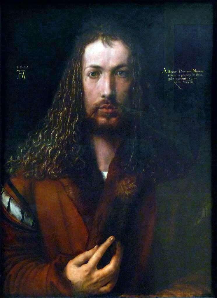 Автопортрет (1500 год)  Альбрехт Дюрер