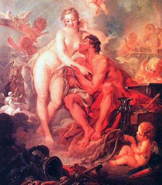 Венера и Вулкан   Франсуа Буше