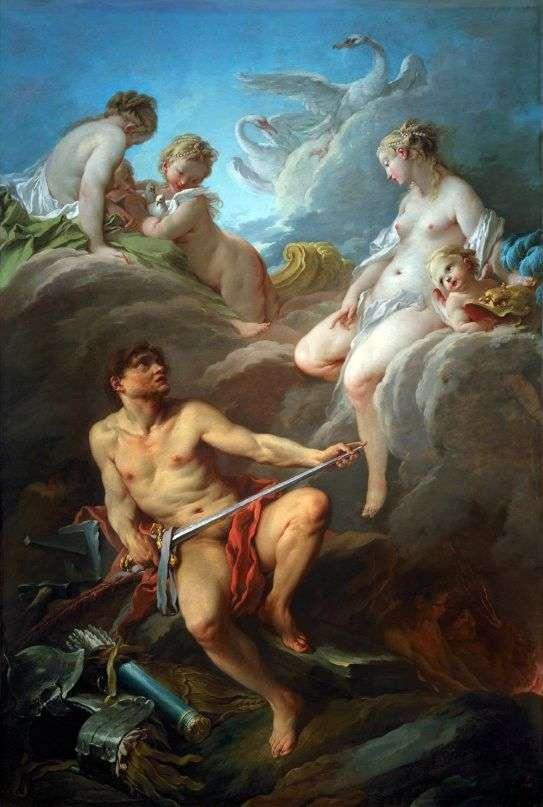 Венера и Вулкан с оружием для Энея   Франсуа Буше