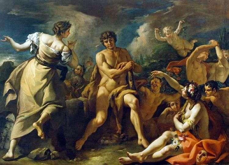 Геркулес на распутье   Себастьяно Риччи