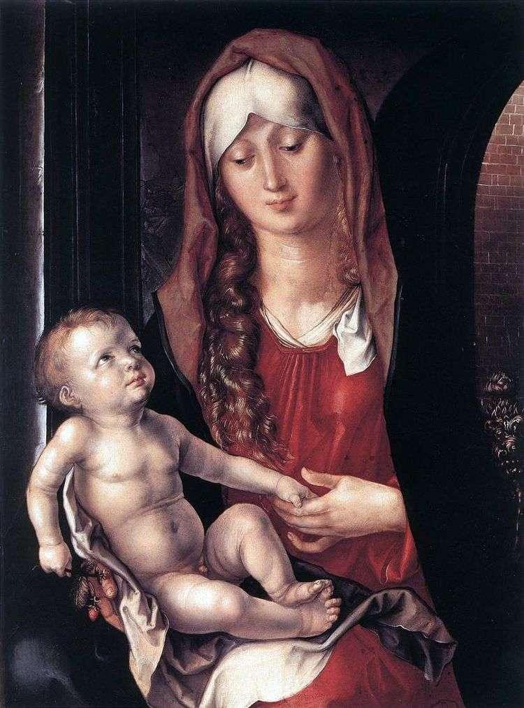 Мадонна с Младенцем   Альбрехт Дюрер