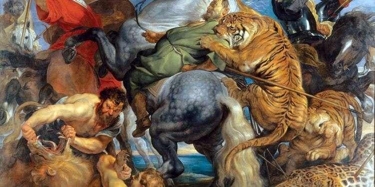 Охота на тигров и львов   Питер Рубенс