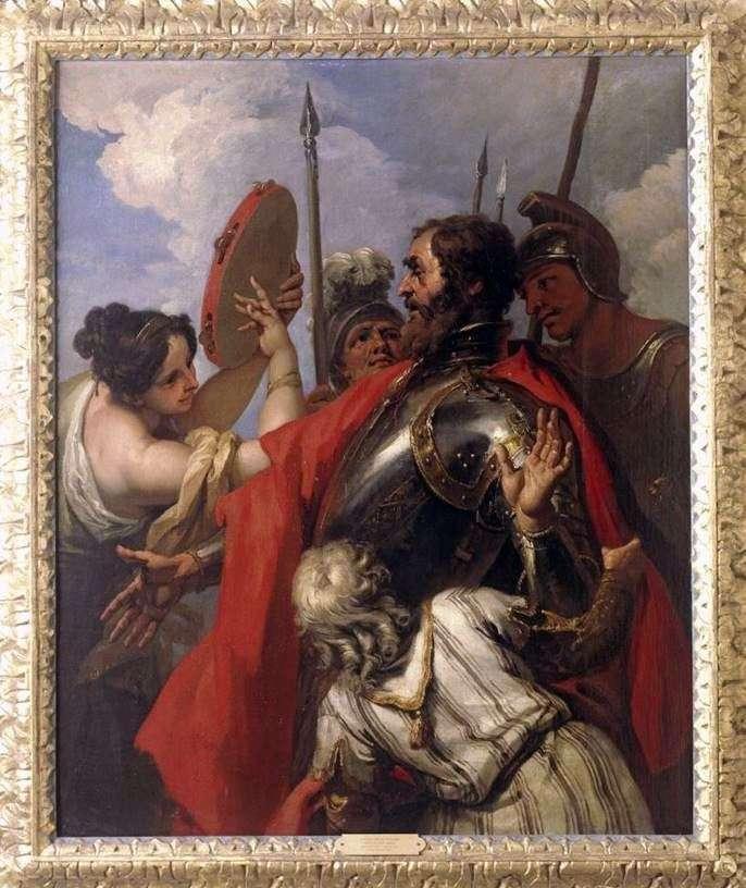 Иеффай и его дочь   Себастьяно Риччи