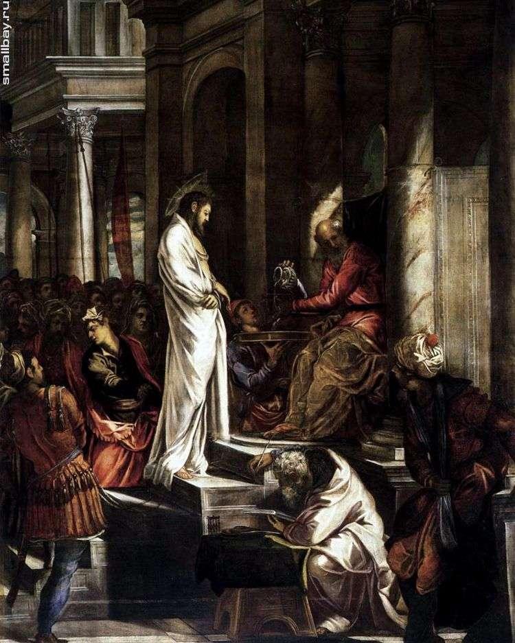 Христос перед Пилатом   Якопо Тинторетто