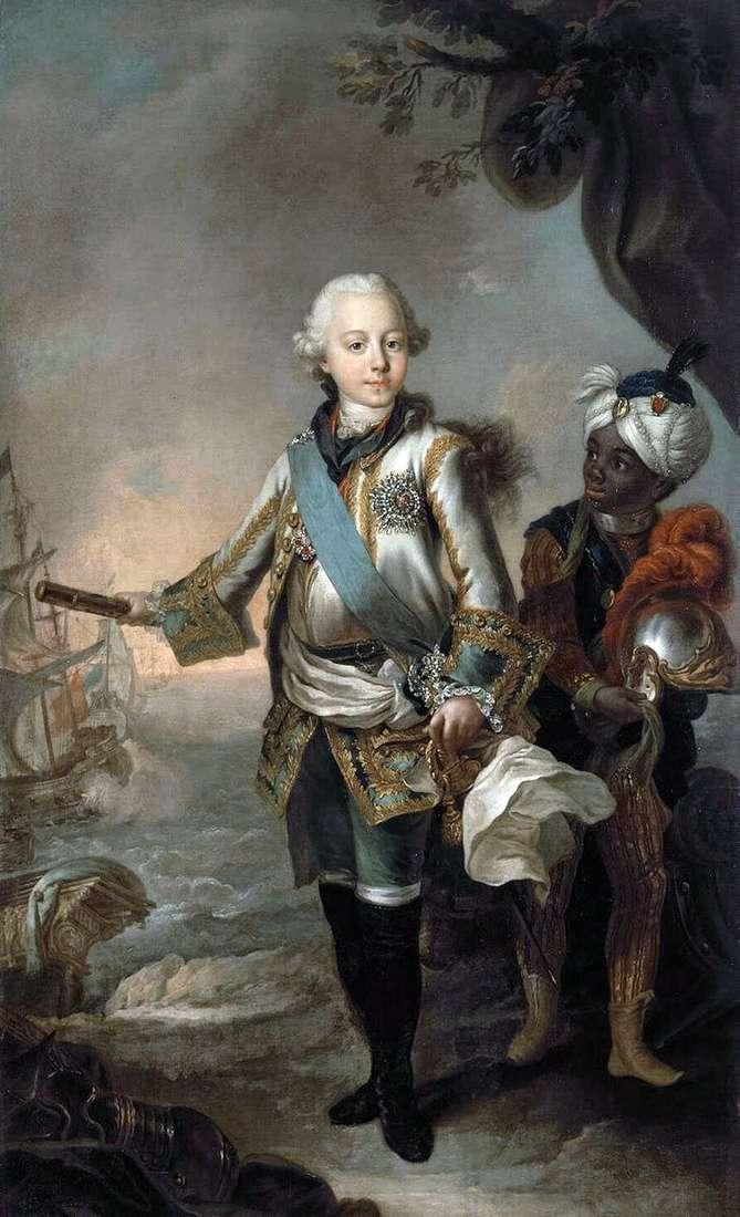 Портрет великого князя Павла Петровича   Стефано Торелли