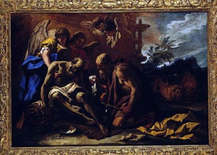 Смерть апостола Павла   Себастьяно Риччи