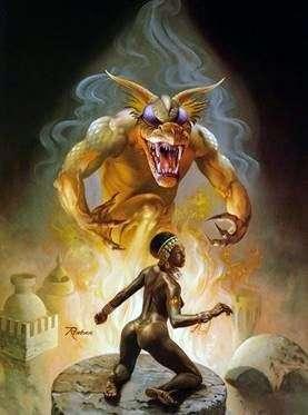 Явление демона   Ровена Моррилл