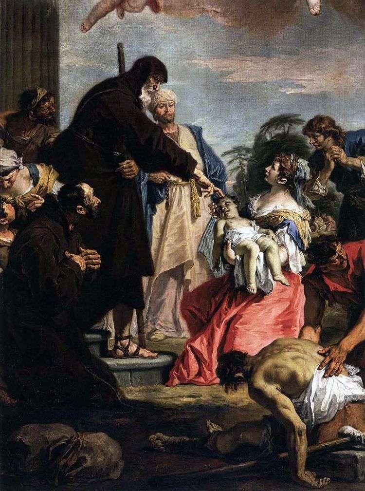 Чудо святого Франциска   Себастьяно Риччи