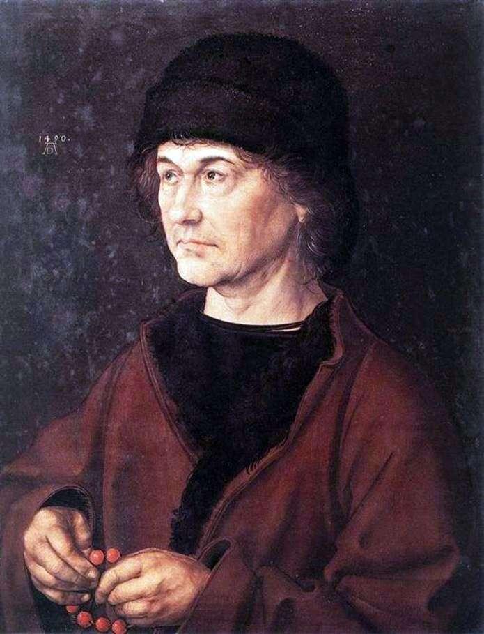 Портрет отца художника   Альбрехт Дюрер
