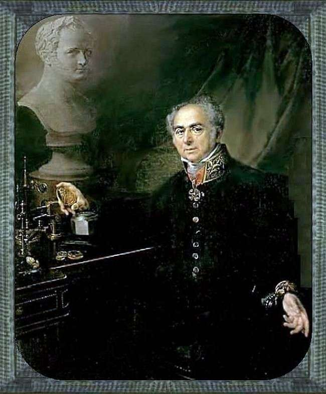 Портрет K. A. Леберехта   Василий Тропинин