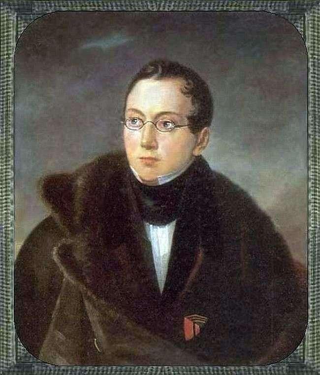 Портрет А. В. Всеволожского   Василий Тропинин