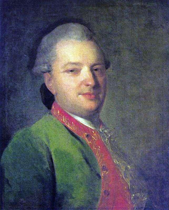 Портрет В. И. Майкова   Федор Рокотов