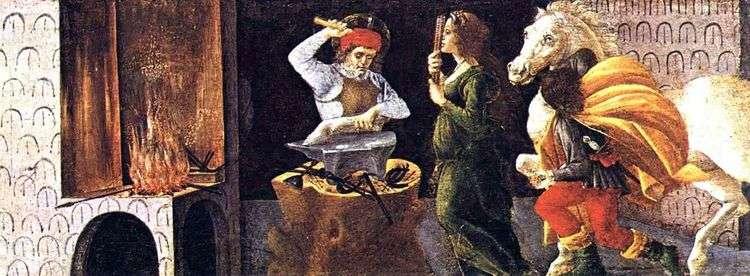 Чудо Святого Элигия   Сандро Боттичелли