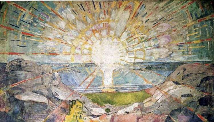Солнце   Эдвард Мунк