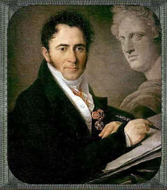 Портрет Н. И. Уткина   Василий Тропинин