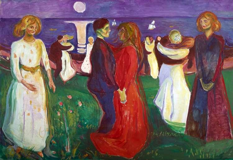 Танец жизни   Эдвард Мунк