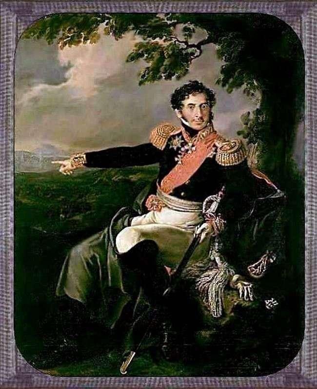 Портрет П. И. Багратиона   Василий Тропинин