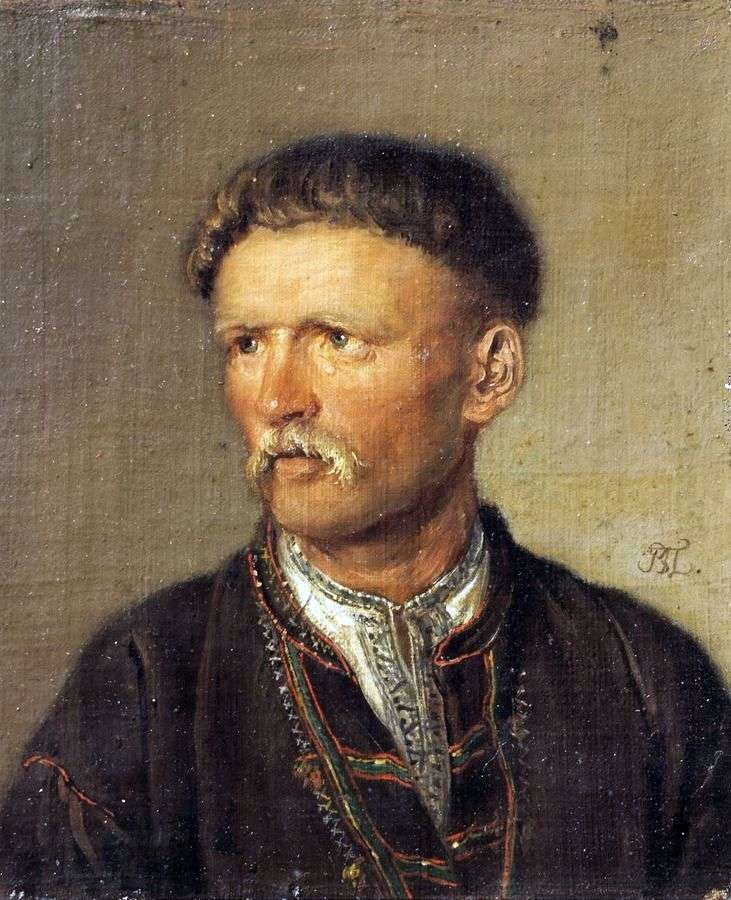 Украинец (Устим Кармелюк)   Василий Тропинин