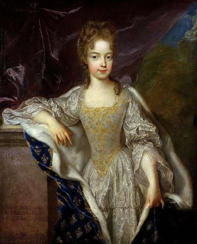Портрет Аделаиды Савойской   Франсуа де Труа