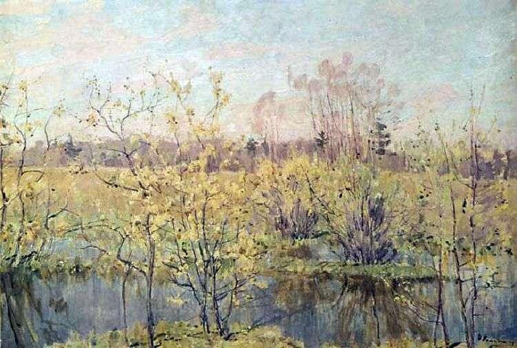 Первое цветение   Николай Ромадин