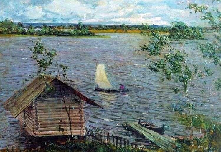Свежий ветер   Николай Ромадин