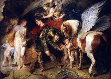 Персей и Андромеда   Питер Рубенс