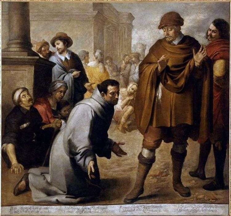 Св. Салвадор Орта и инквизитор Арагона   Бартоломео Эстебан Мурильо