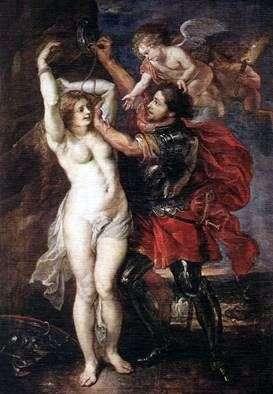 Персей, освобождающий Андромеду   Питер Рубенс