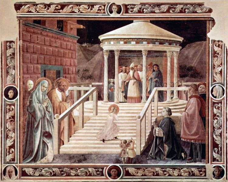 Введение во храм пресвятой Богородицы   Паоло Уччелло