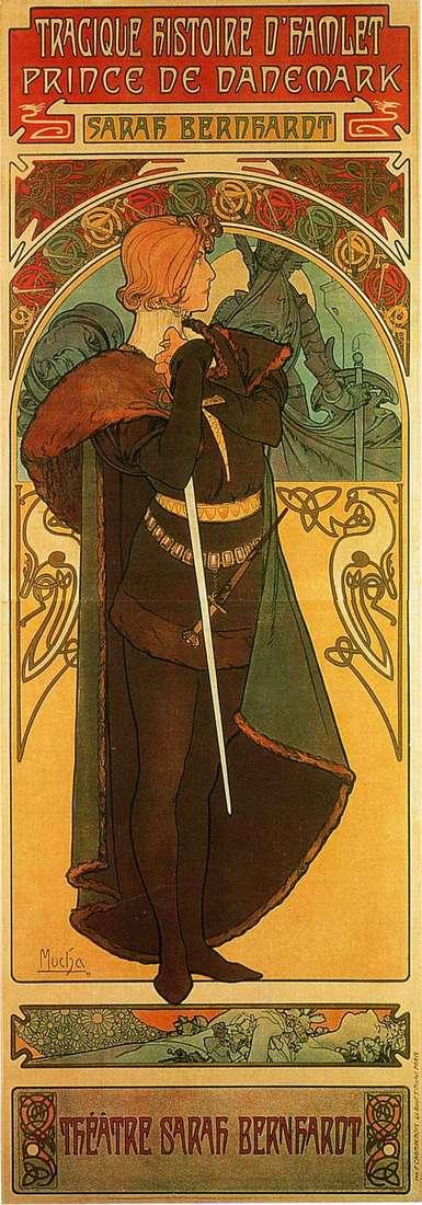 Гамлет, принц Датский   Альфонс Муха
