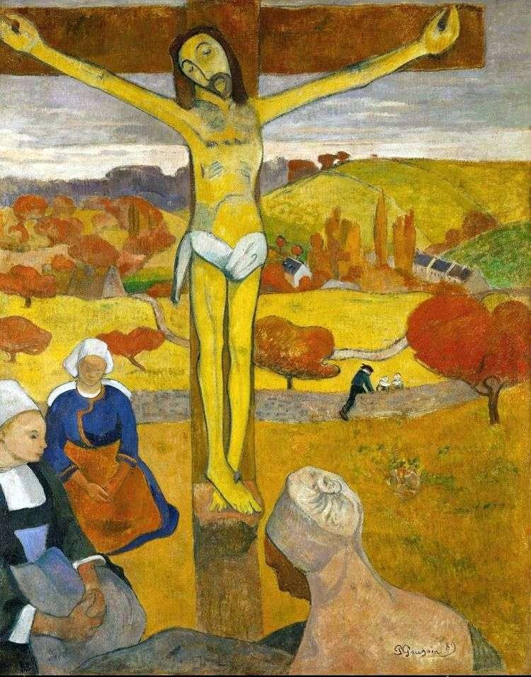 Желтый Христос   Поль Гоген