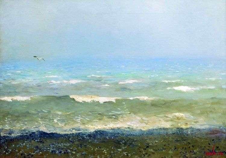 Берег Средиземного моря   Исаак Левитан