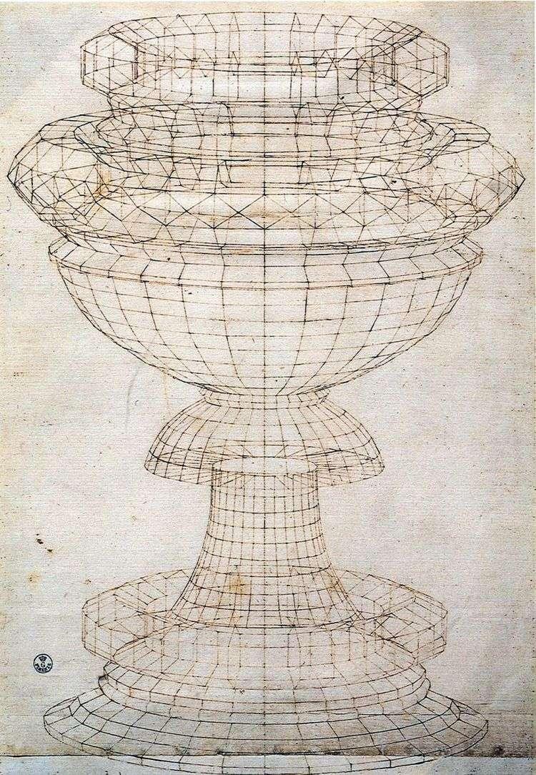 Перспектива чаши   Паоло Уччелло