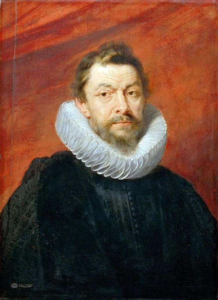 Портрет барона Генри де Вика   Питер Рубенс