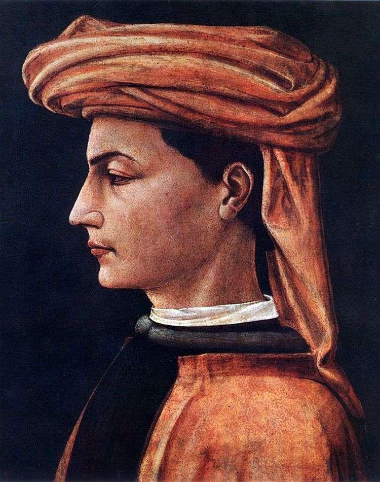Портрет молодого человека   Паоло Уччелло