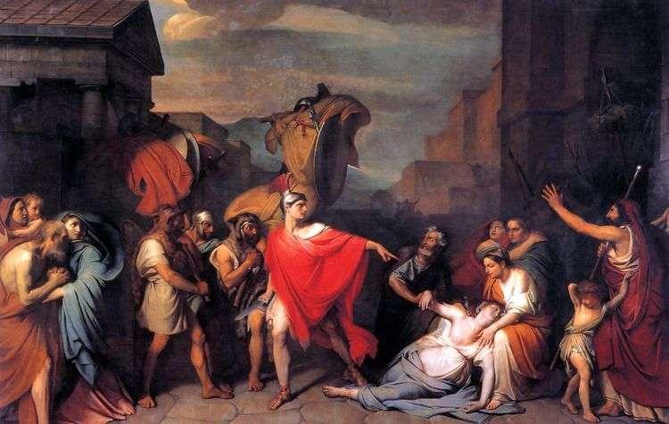Смерть Камиллы, сестры Горация   Федор Бруни