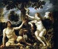 Искушение Адама и Евы   Якоб Йорданс