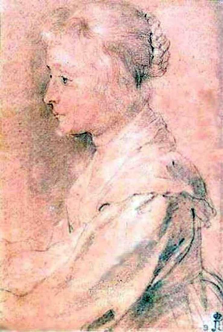 Портрет дочери Балтазара Жербье   Питер Рубенс