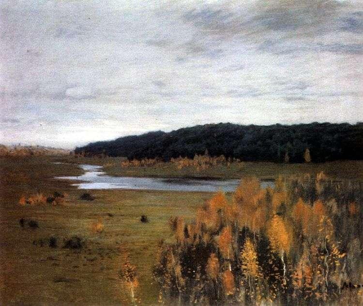 Долина реки   Исаак Левитан