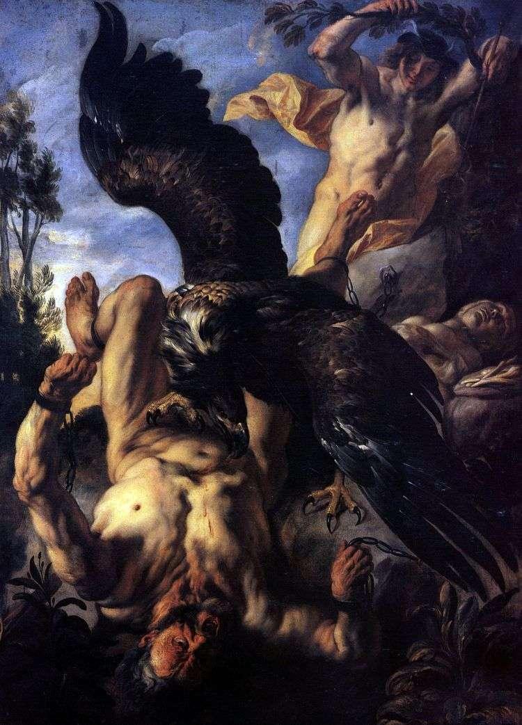 Орел, терзающий Прометея   Якоб Йорданс