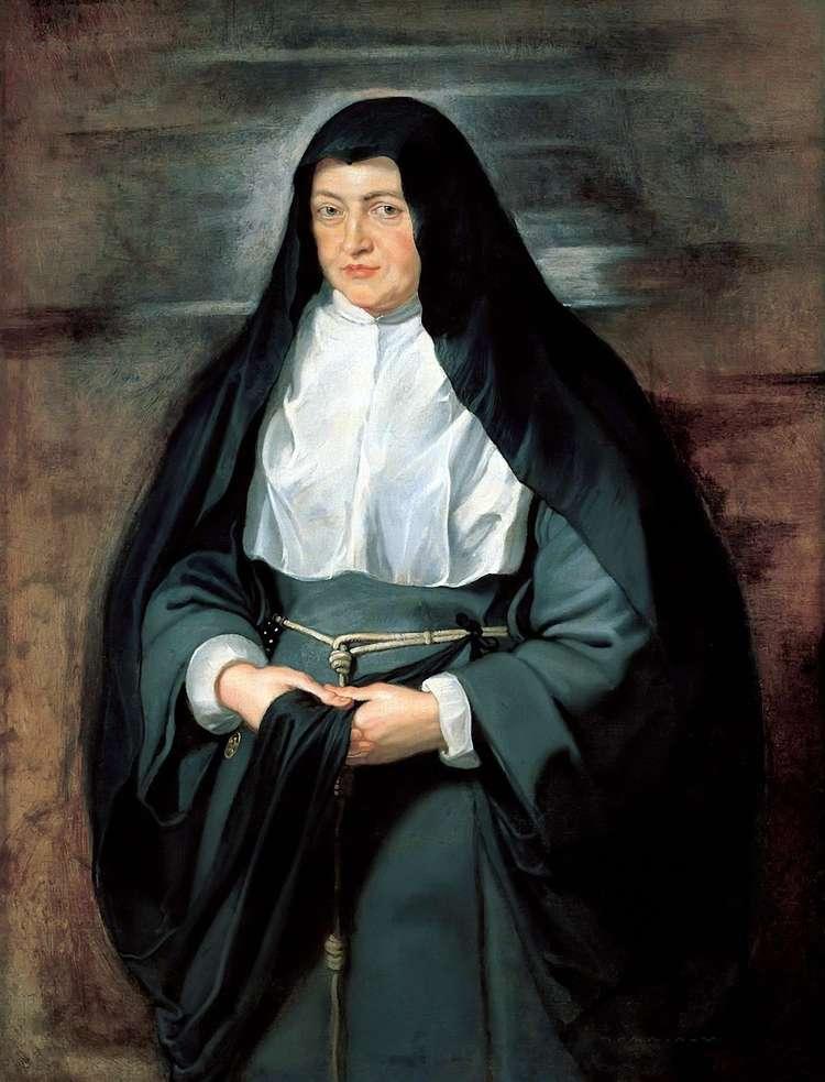 Портрет инфанты Изабеллы в костюме монахини   Питер Рубенс