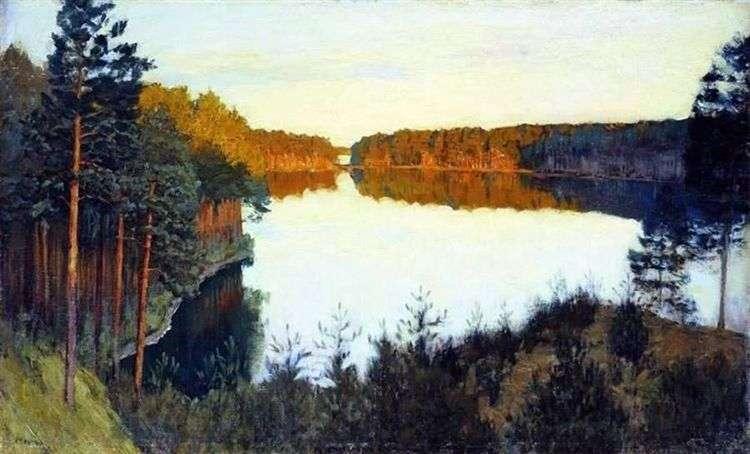 Лесное озеро   Исаак Левитан