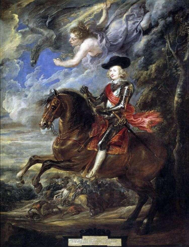 Портрет кардинал инфанта Фердинанда   Питер Рубенс