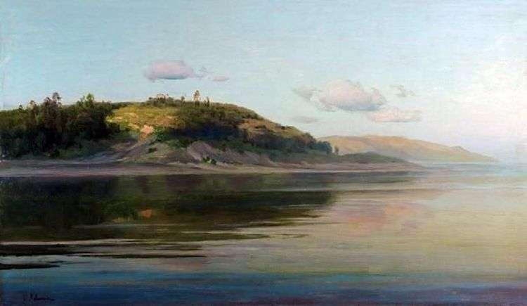Летний вечер. Река   Исаак Левитан